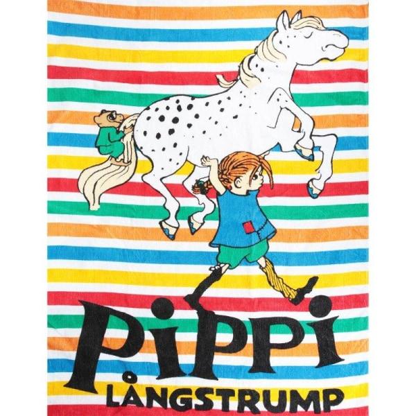 Randig-bandhandduk- Pippi Långstrump