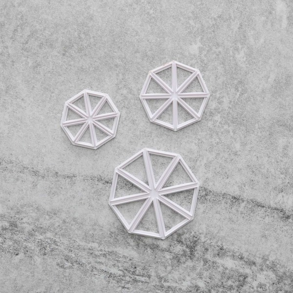 Vimplar Utstickare 3-pack Trianglar