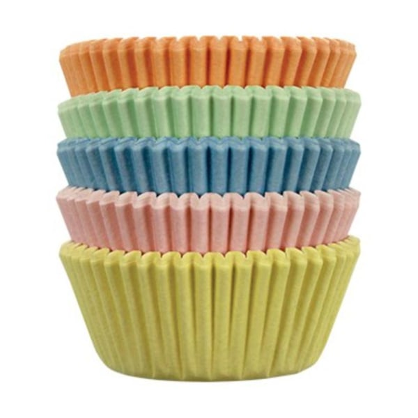 PME - Mini Muffinsformar Blandade färger - 100-pack