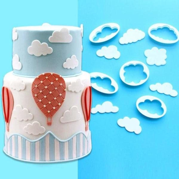 Moln Utstickare 5st BakeCake