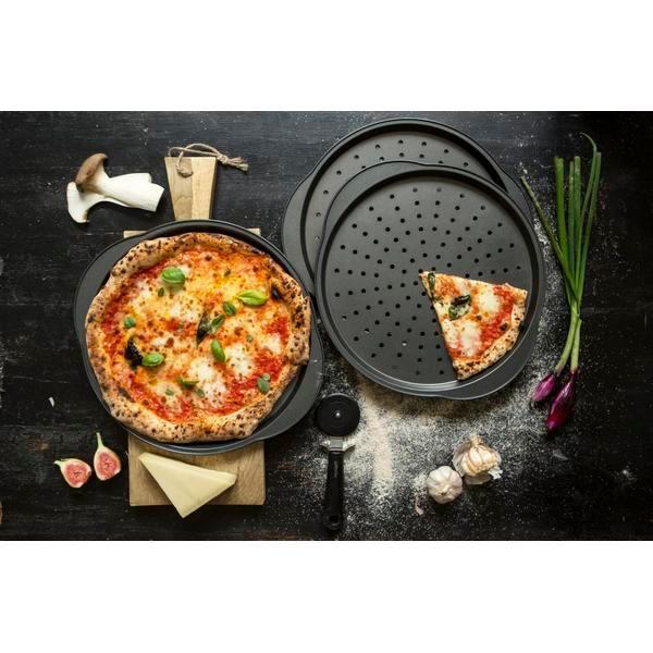 Rund pizzaplåt Ø 31 cm - Gastromax