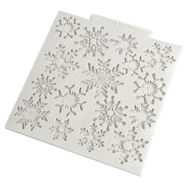 Katy Sue Snöflingor Silikonform Mould Snowflakes flerfärgad