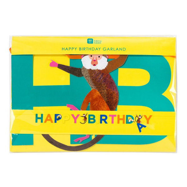 Happy Birthday Girlang - Party Animals