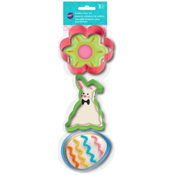 Utstickare Påsk Blomma Hare Ägg - Wilton flerfärgad