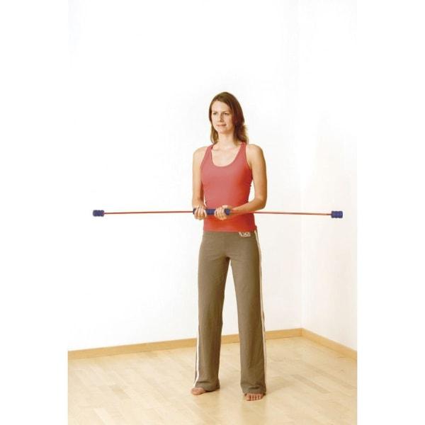 Sissel Träningsstång Sport Swing 150 cm SIS-162.055 Röd