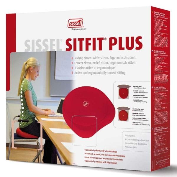 Sissel 2-i-1 Sittdyna Sitfit Plus röd SIS-160.071 Röd