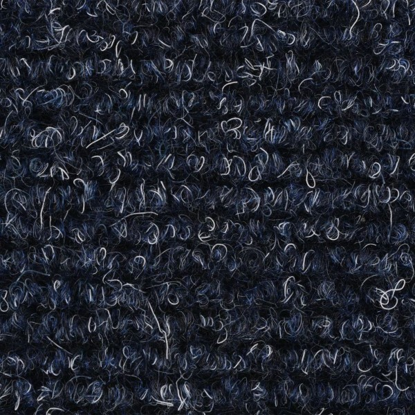 vidaXL Trappstegsmattor självhäftande 15 st brodyr 54x16x4 cm bl Blå