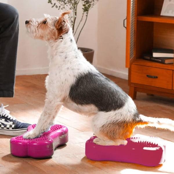 FitPAWS Balansplatta för husdjur Mini K9FITbone 2-pack 29x16,5x6 Rosa
