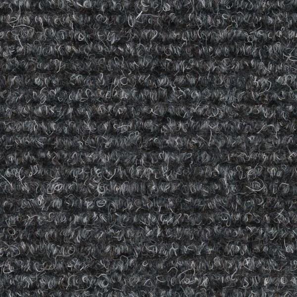 vidaXL Trappstegsmattor självhäftande 15 st brodyr 65x21x4 cm lj Grå