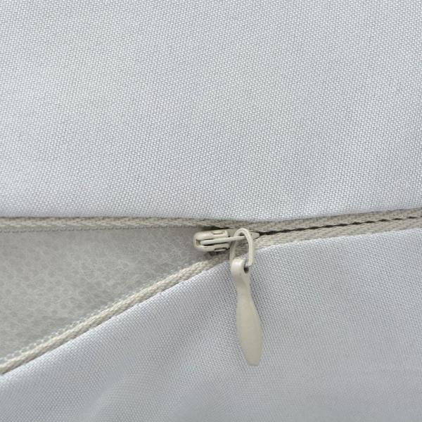 vidaXL Gravidkudde 90x145 cm grå Grå