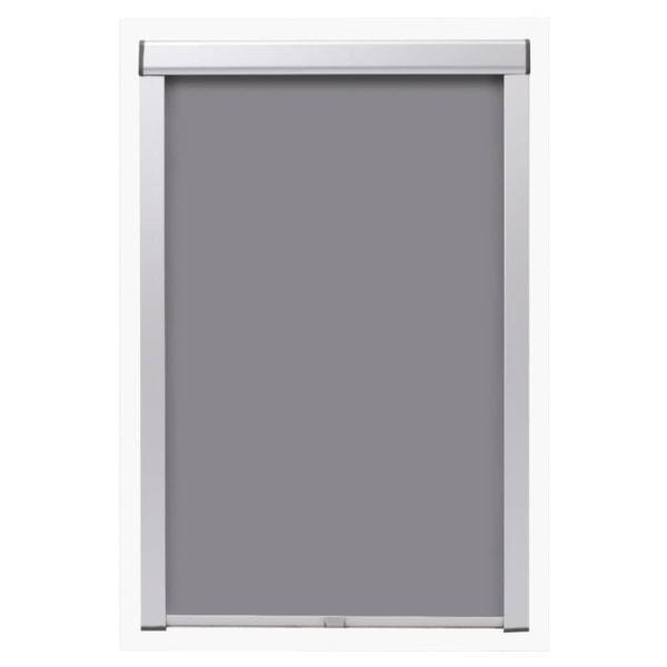 vidaXL Mörkläggande rullgardin grå MK06 Grå