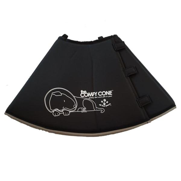 All Four Paws Hundkrage Comfy Cone S lång 20 cm svart Svart