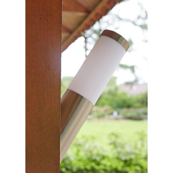 Luxform Luxbright Trädgårdslampa solcell LED vägglampa Idaho sil Silver