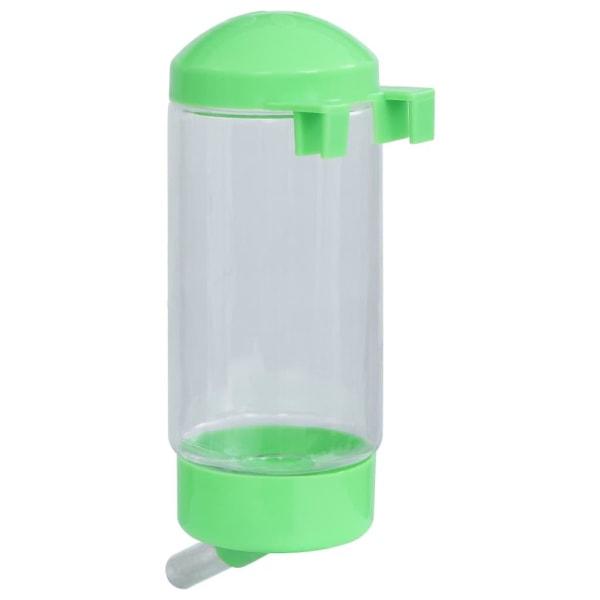 vidaXL Vattenflaska för smådjur grön Grön