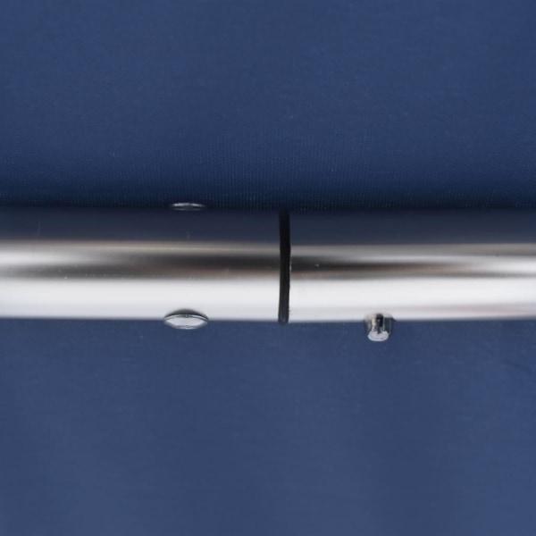 vidaXL Båtkapell 4 bågar blå 243x196x137 cm