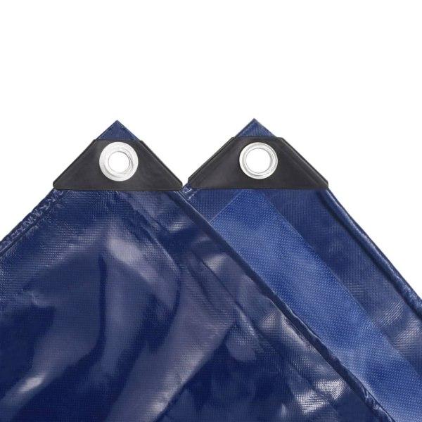 vidaXL Presenning 650 g/m² 3x6 m blå Blå