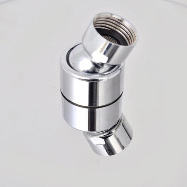 vidaXL Regnduschhuvud rostfritt stål 20x40 cm rektangulärt Silver