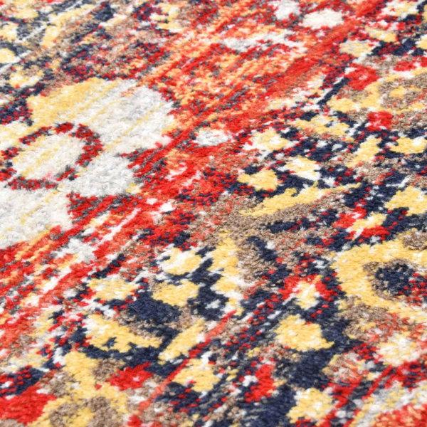 vidaXL Matta röd 80x150 cm PP Röd