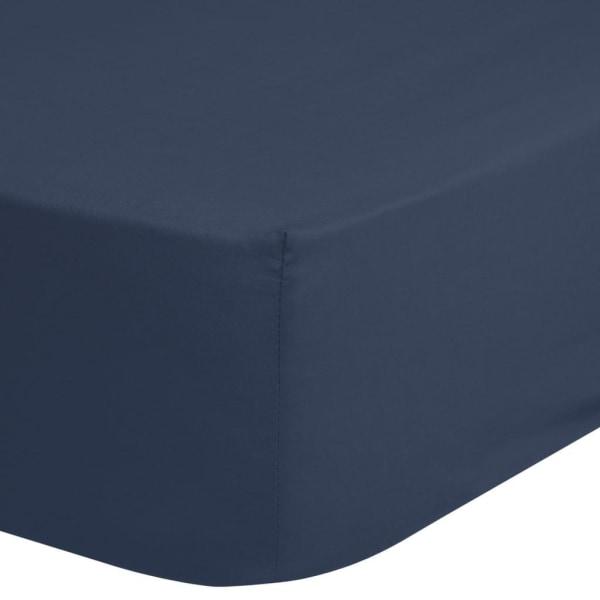 HIP Dra-på-lakan 140x200 cm mörkblå Blå