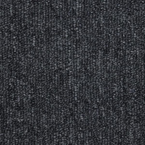 vidaXL 15 st Trappstegsmattor antracit 65x24x4 cm Grå