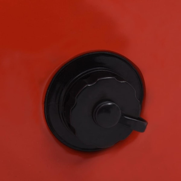 vidaXL Hopfällbar hundpool röd 120x30 cm PVC