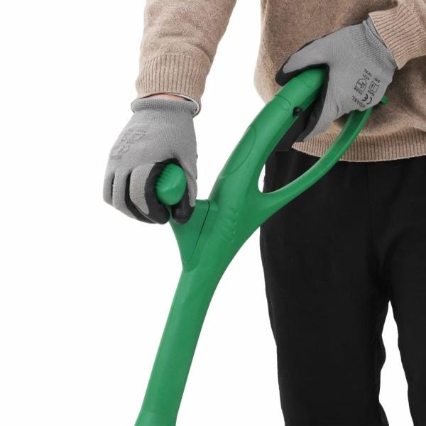 vidaXL Elektrisk ogräsklippare 140 W grön Grön