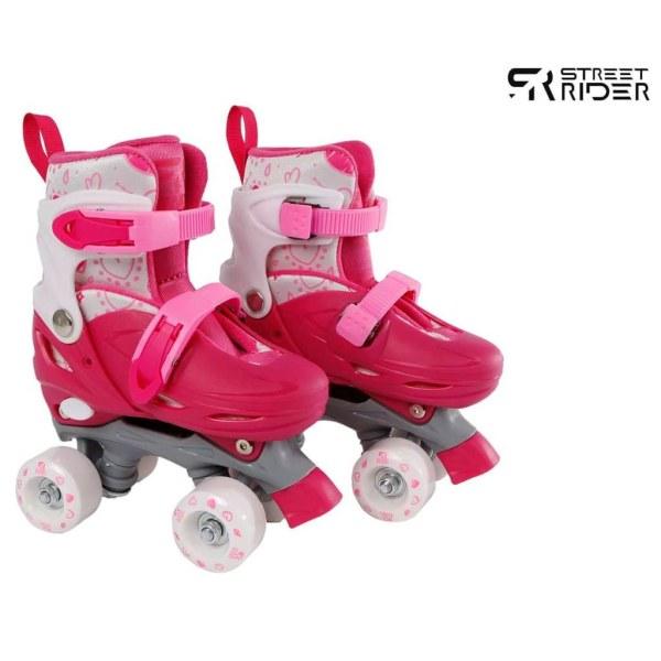 Street Rider Rullskridskor justerbara stl 31-34 rosa Rosa