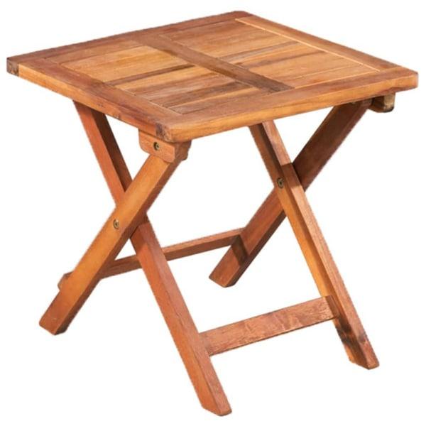 vidaXL Solsängar 2 st med bord konstrotting och massivt akaciatr Svart