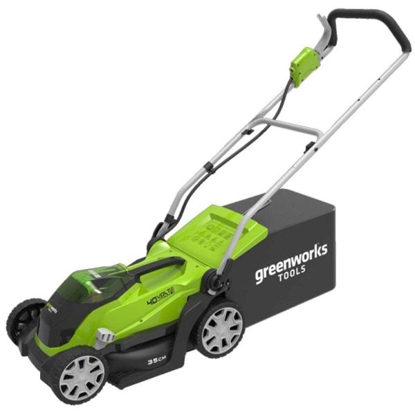 Greenworks Gräsklippare utan 40 V-batteri G40LM35 2501907 Flerfärgsdesign