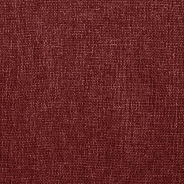 vidaXL Matstolar 6 st vinröd tyg Röd