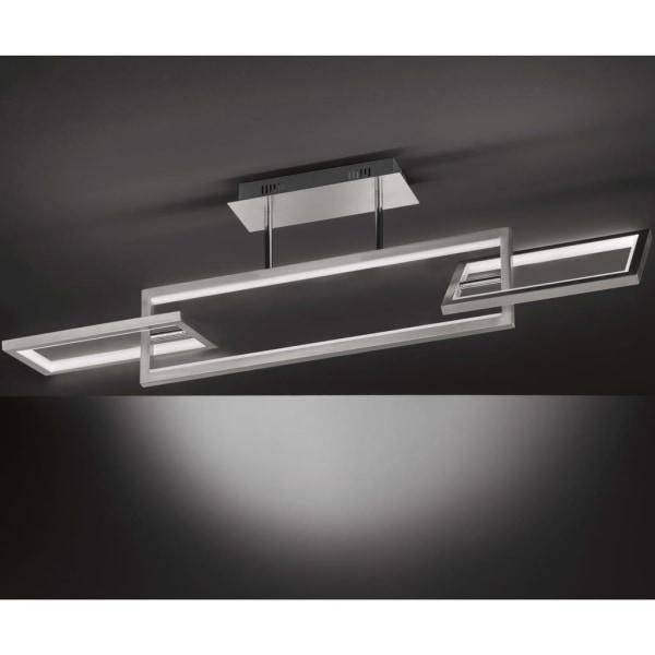 Wofi Taklampa LED Muriel  matt nickel Silver