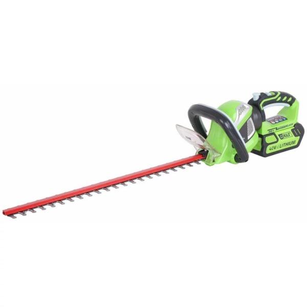 Greenworks Häcksax utan 40 V batteri G40HT61 61 cm 2200907 Grön