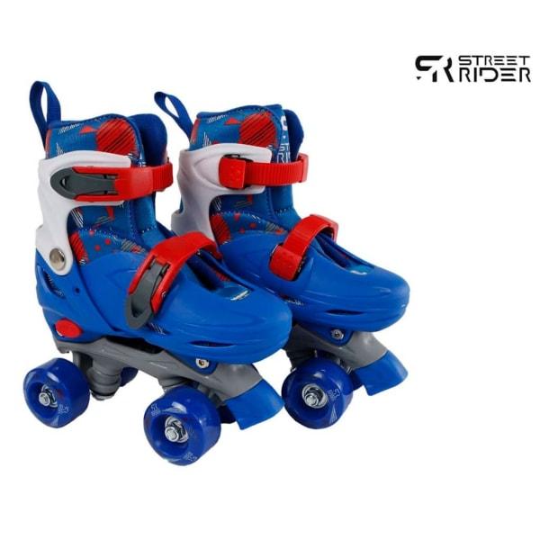 Street Rider Rullskridskor justerbara stl 27-30 blå Blå