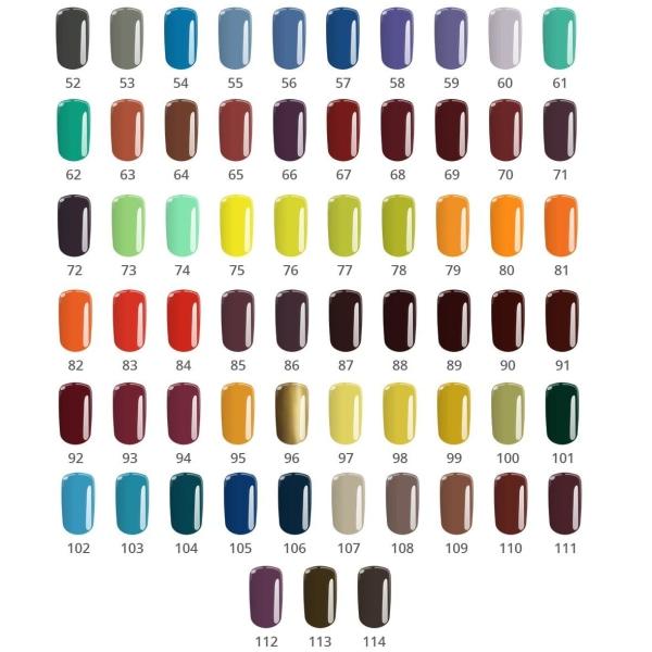 Base one - Color - UV Gel - Carmel Brown 63 - 5 gram Orange