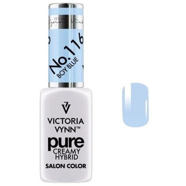 Victoria Vynn - Pure Creamy - 116 Boy Blue - Gellack Light blue