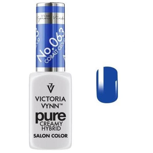 Victoria Vynn - Pure Creamy - 063 Cobalt Cloud - Gellack Blue