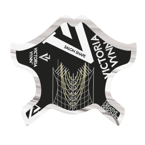 Kynsimallit - 400 kpl Salonki - Victoria Vynn Black