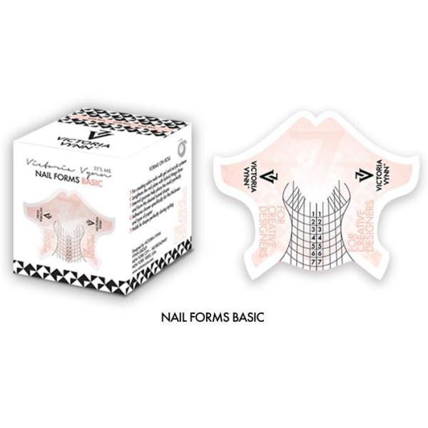 Nagelmallar - 400 st Basic - Victoria Vynn Rosa
