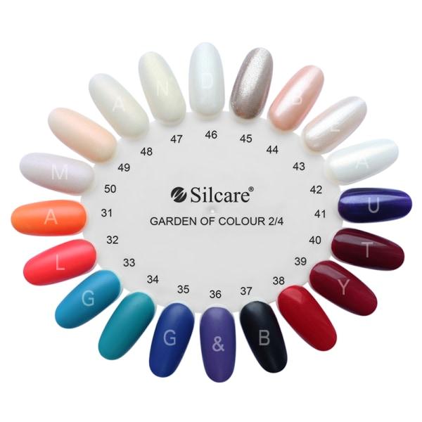 Silcare - Garden of Colour - Nagellack - 76 - 15 ml Blå