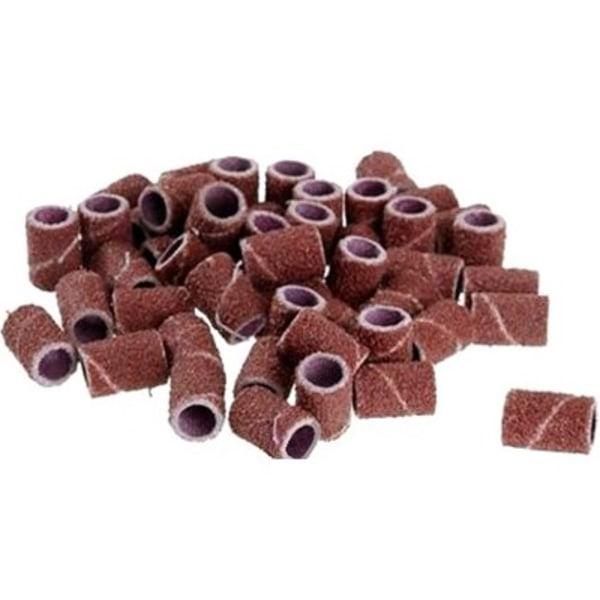Hiomarenkaat hiekkapaperilla kynsien hiontaan - 80 karkeutta - 25kpl