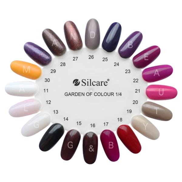 Silcare - Garden of Colour - Nagellack - 126 - 15 ml Mörkröd