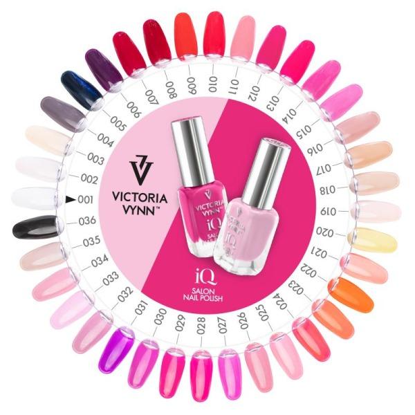 Victoria Vynn - IQ Polish - 01 A touch of White - Nagellack Vit