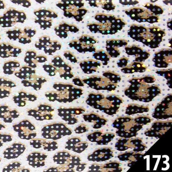 Neglefolie / folie - til sømpynt - # 173 - 100 cm Multicolor