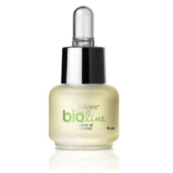 Silcare - BIO Line - Kokosnöt 15 ml - Nagelbandsolja Transparent