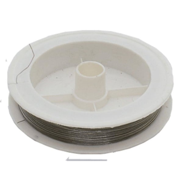 0,45 mm Smycketråd 10 meter wire stål