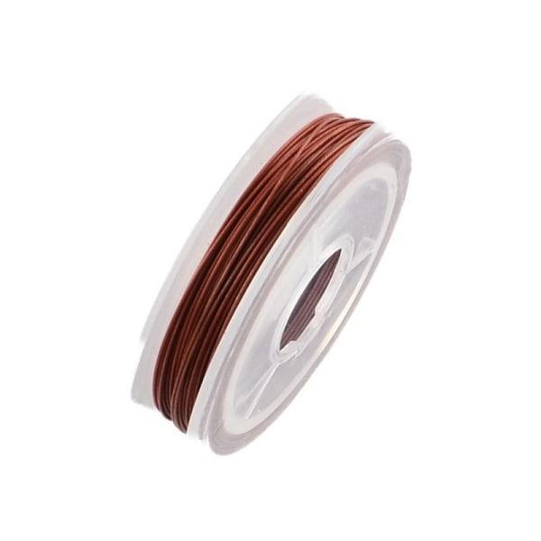smyckestråd vajer vinröd 10 meter