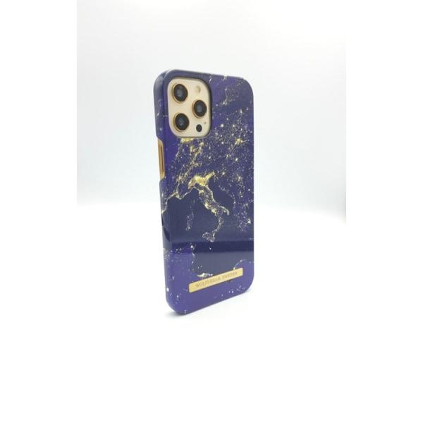 WORLD LIGHTS - Magnetskal till Iphone 12MINI blå