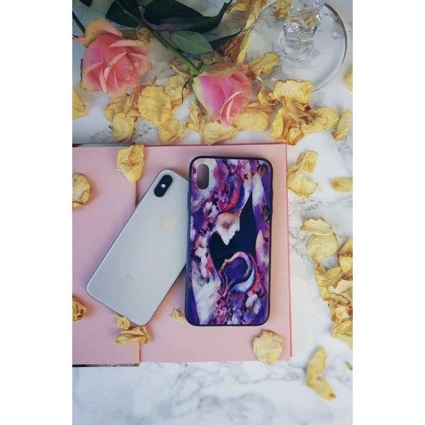 IPHONE SE 2020 MOBILSKAL - LOVE OF LIFE rosa