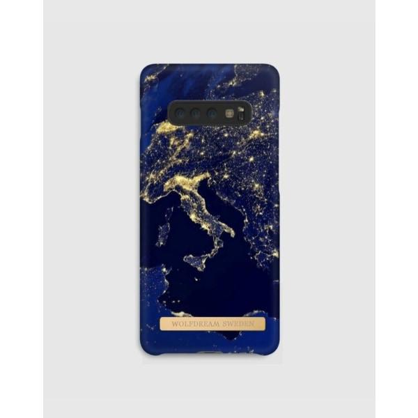 WORLD LIGHTS - Magnetskal till Samsung S10PLUS blå