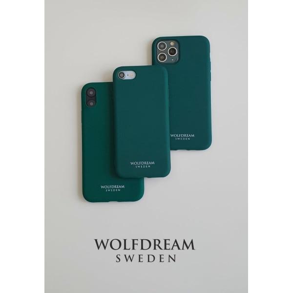 Dark Green -MOBILSKAL I TPU TILL IPHONE SE 2020 grön